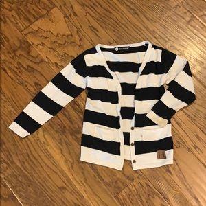 Beau Hudson Striped Cardigan